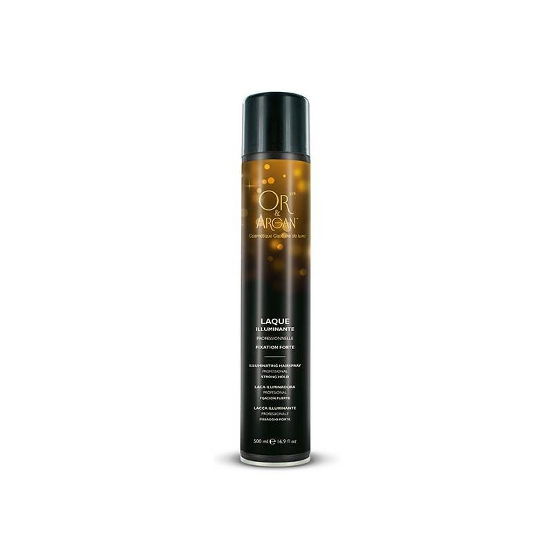 Laque illuminante Or & Argan 500ml (forte)
