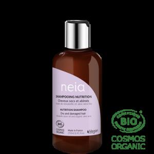 Shampoing Neia Nutrition cheveux sec et abimés.