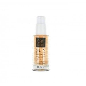Sun Active - Booster capillaire Or & Argan 30 ml