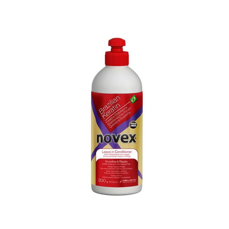 Après-Shampoing SANS RINCAGE Kératine Novex-300ml