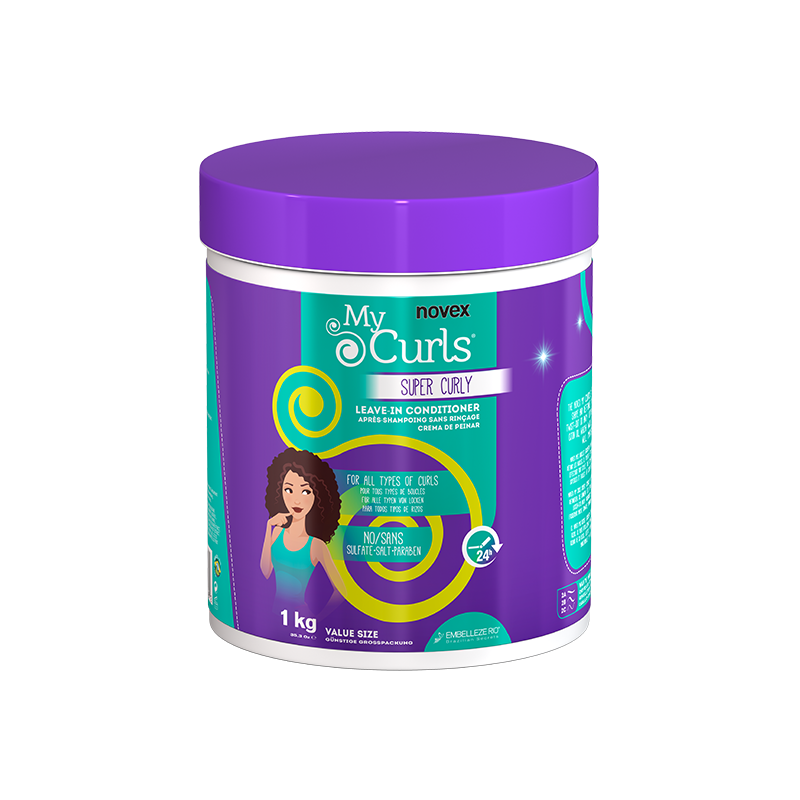 Après-Shampoing Sans Rinçage - My curls Super Curly 1Kg Novex