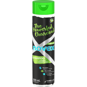 Shampoing The Powerful Charcoal Novex 300ml - Détox et Purifiant