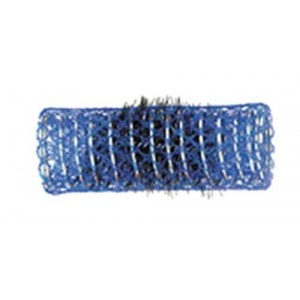 12 bigoudis bleus diametre 22mm
