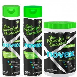 pack Novex Powerful Charcoal