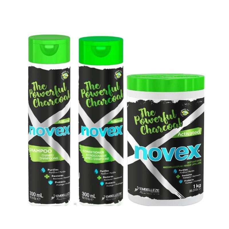 pack Novex Powerful Charcoal
