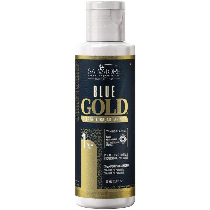 Blue gold Salvatore 100ml shampoing clarifiant