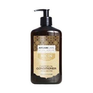 Après-shampoing à l'huile de Ricin - Arganicare 400ml