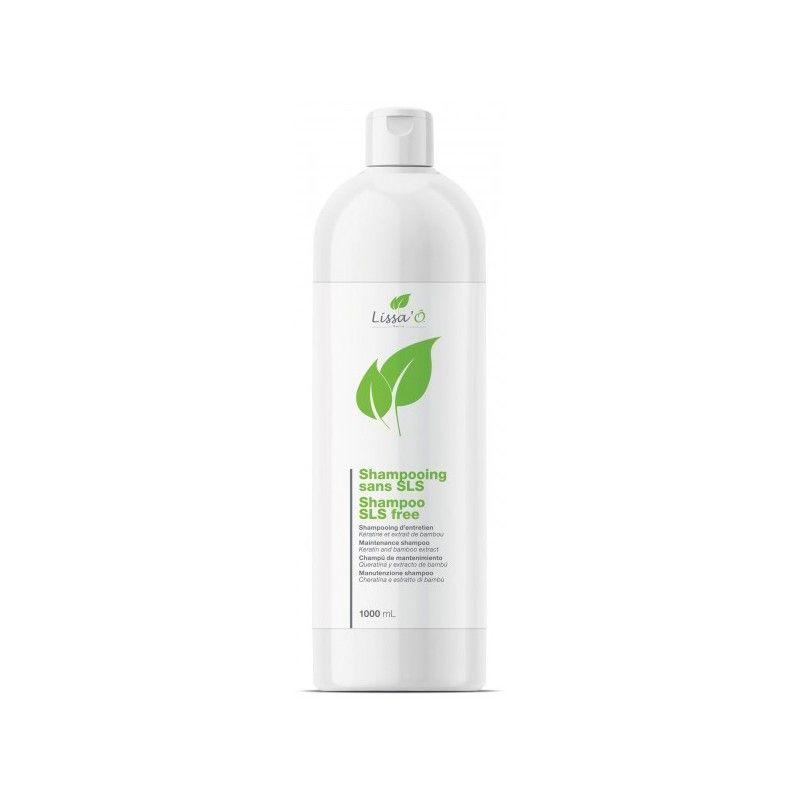 Shampooing Sans Sel de Sulfate Lissa'Ô Natura Keratin 1L