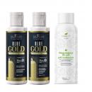 Kit lissage tanin Blue Gold Salvatore + régulateur pH 3x100ml pack