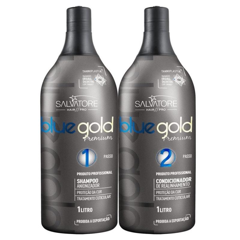 Salvatore blue gold premium
