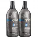 Kit lissage tanin Salvatore Blue Gold Premium pack 2X1L