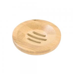 porte savon rond bambou